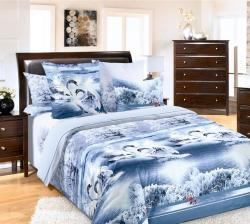 Купить постельное белье из бязи «Лебединое озеро» в Барнауле
